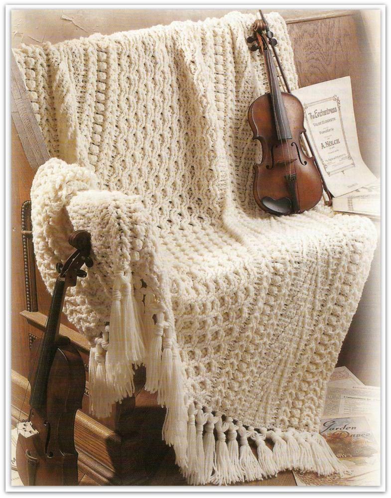 Crochet Aran Afghan Pattern - PDF 46501613 by nanaloveshandmade on ...