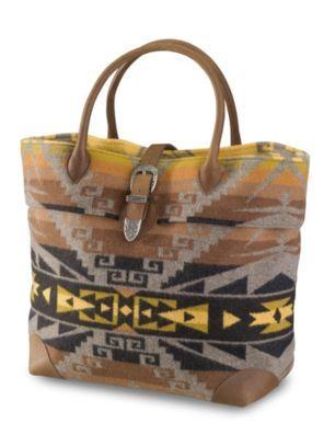 Pendleton Buckle Bag.