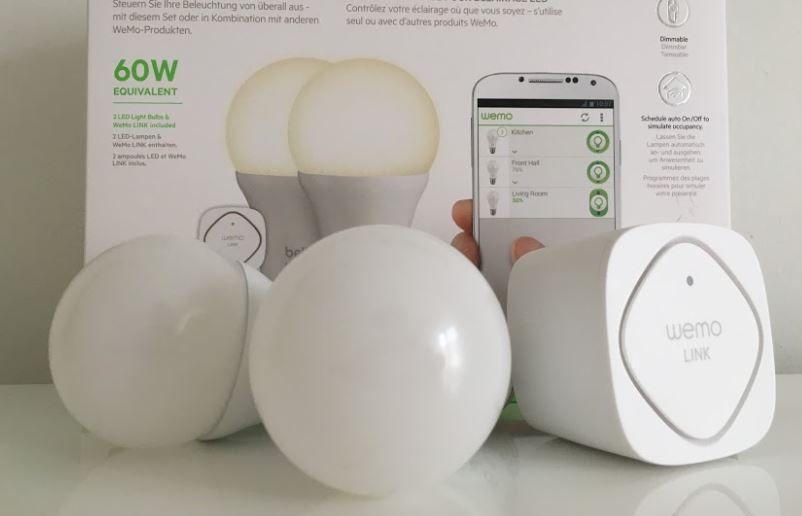 Wemo belkin led lampen: günstige philips hue alternative? https