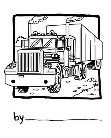 Peterbilt Pencil Coloring Pages Truck Tattoo Coloring Pages Truck Coloring Pages