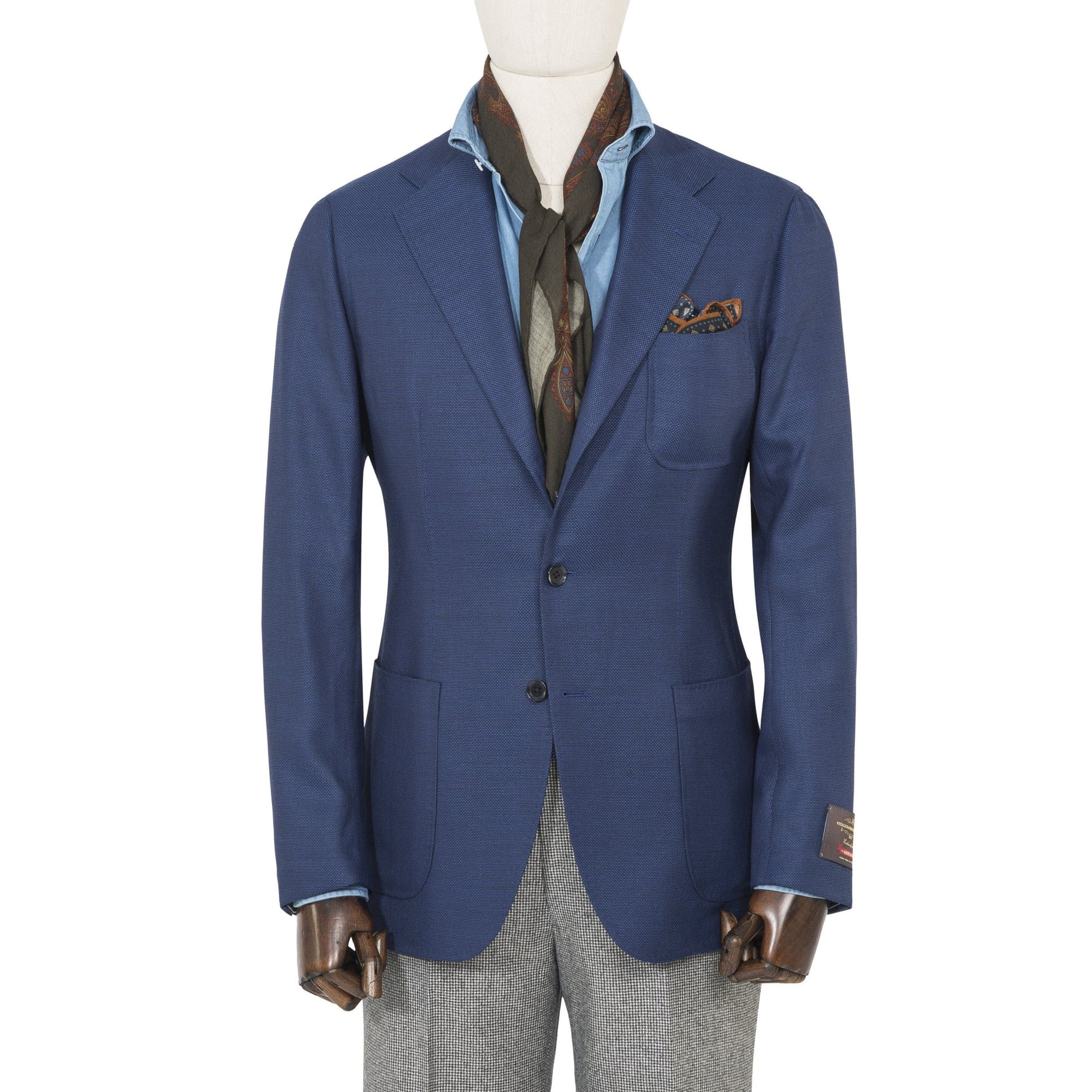 Ring Jacket Hopsack AMJ07 Travel Sport Coat – The Armoury ...