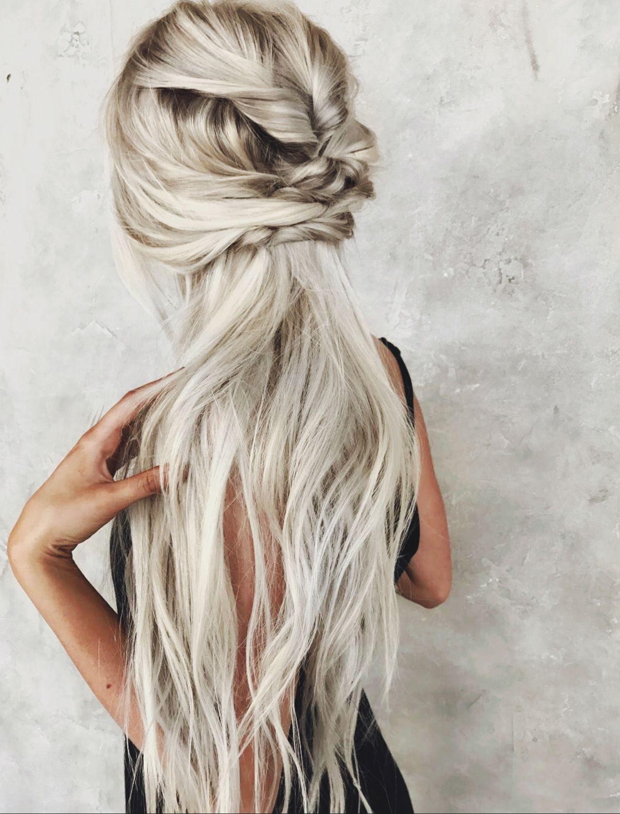 Weheartit Com Long Hair Styles Braids For Long Hair Messy