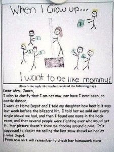 Check your kids homework before they take it to school. haha.