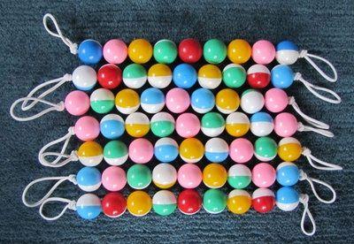 Wir liefern Rasselketten für Puppenwagen alles Unikate - We supply rattle chains for doll's prams, all unique - Nous fournissons des chaînes à crécelles pour poussettes de poupée, toutes uniques - Suministramos cadenas de cascabel para los cochecitos de muñecas, todos únicos