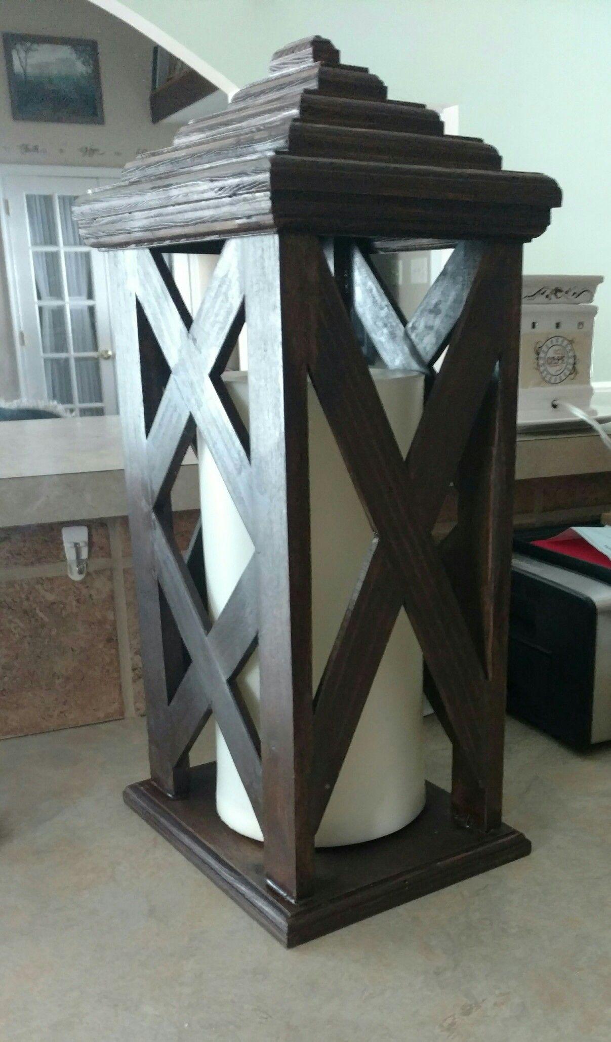 Pallet Lantern Trim Work Wood Diy Furniture