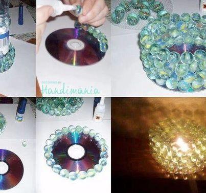 recyclage cr atif des vieux cd 29 id es pour vous inspirer ateliers du vendredi. Black Bedroom Furniture Sets. Home Design Ideas