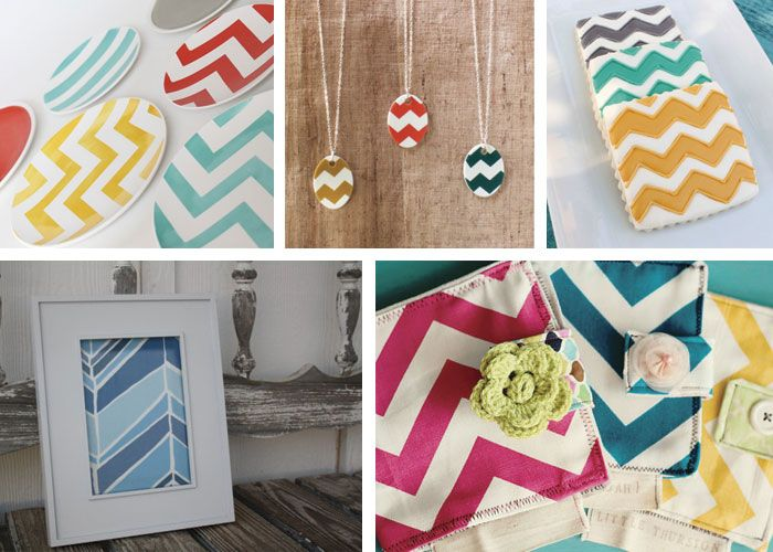 Have I mentioned lately how much I love chevron?!