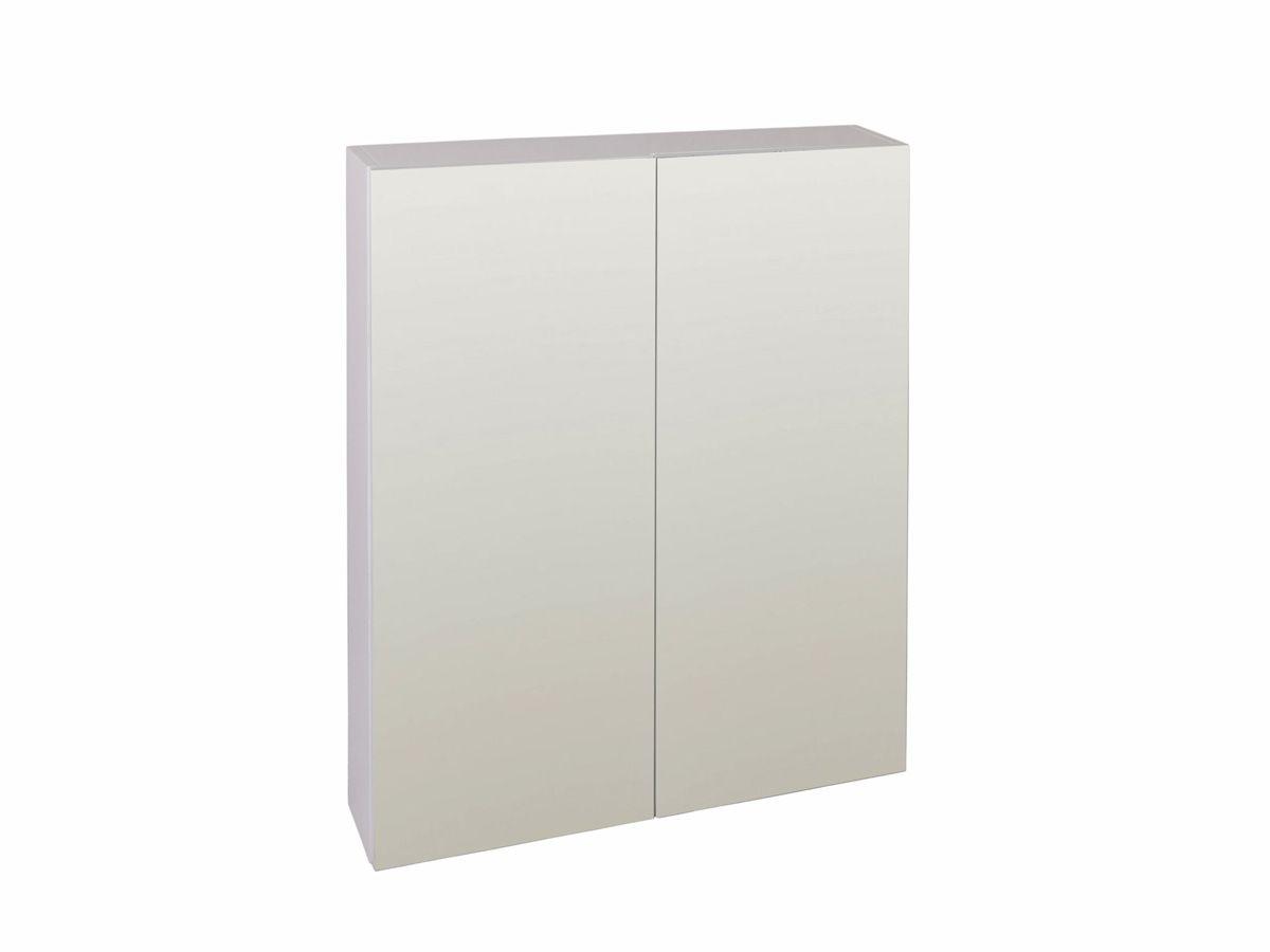 Posh dominique mkii 600 x 750 mirror cabinet house for Bathroom cabinet 750