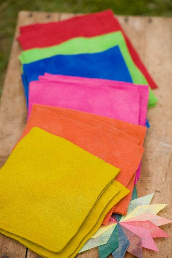 Handmade 100 Wool Felt From Vintage Wool Fabric By Crafterscoop 2 50 Vintage Wool Wool Fabric Wool Felt