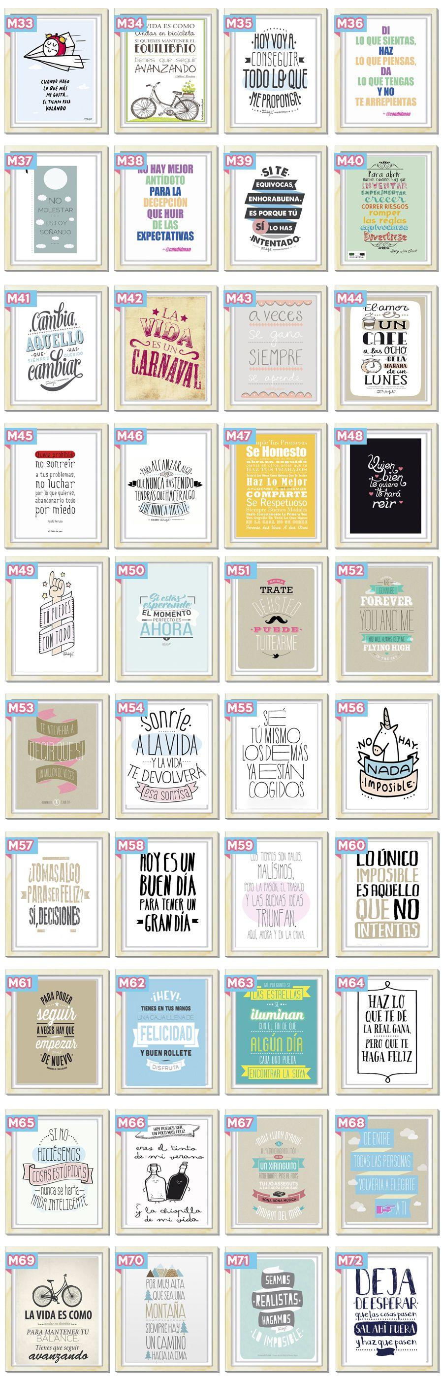 Cuadros Originales Modernos Personalizados Frases Cuadros