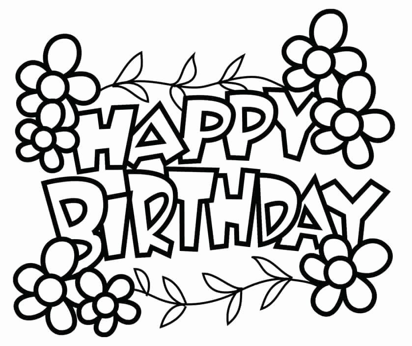 28 Birthday Card Coloring Page in 2020 (With images
