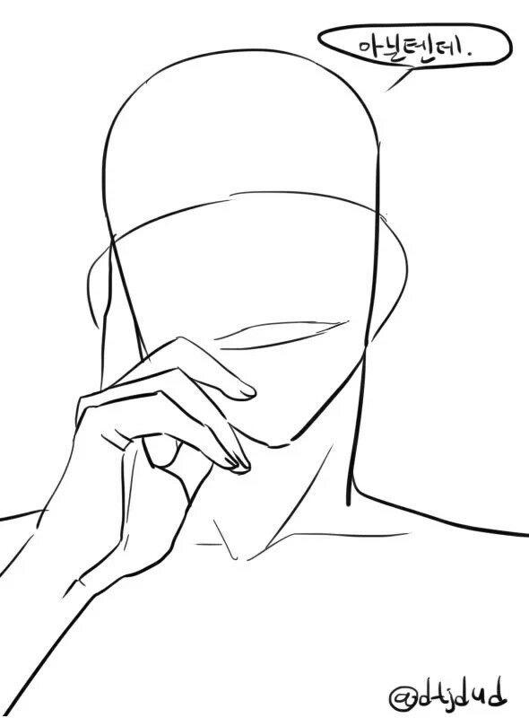 트레이싱 자료 7 | Drawing Base | Pinterest | Anatomía, Dibujar y Bocetos