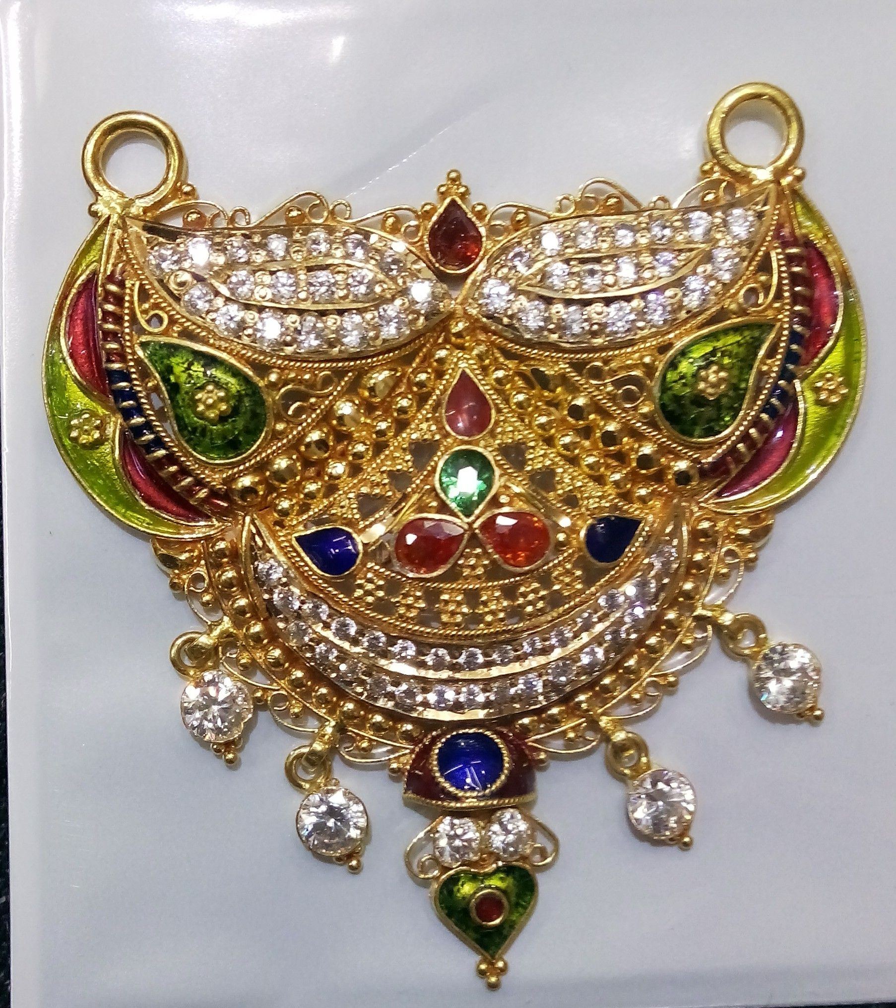 Beautiful mangalsutra pendal by dulhan jewellers pali call