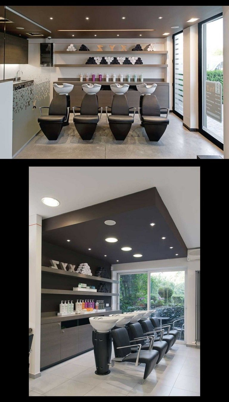 15 Luxury Ideas For A Stylish Beauty Salon #salondesign