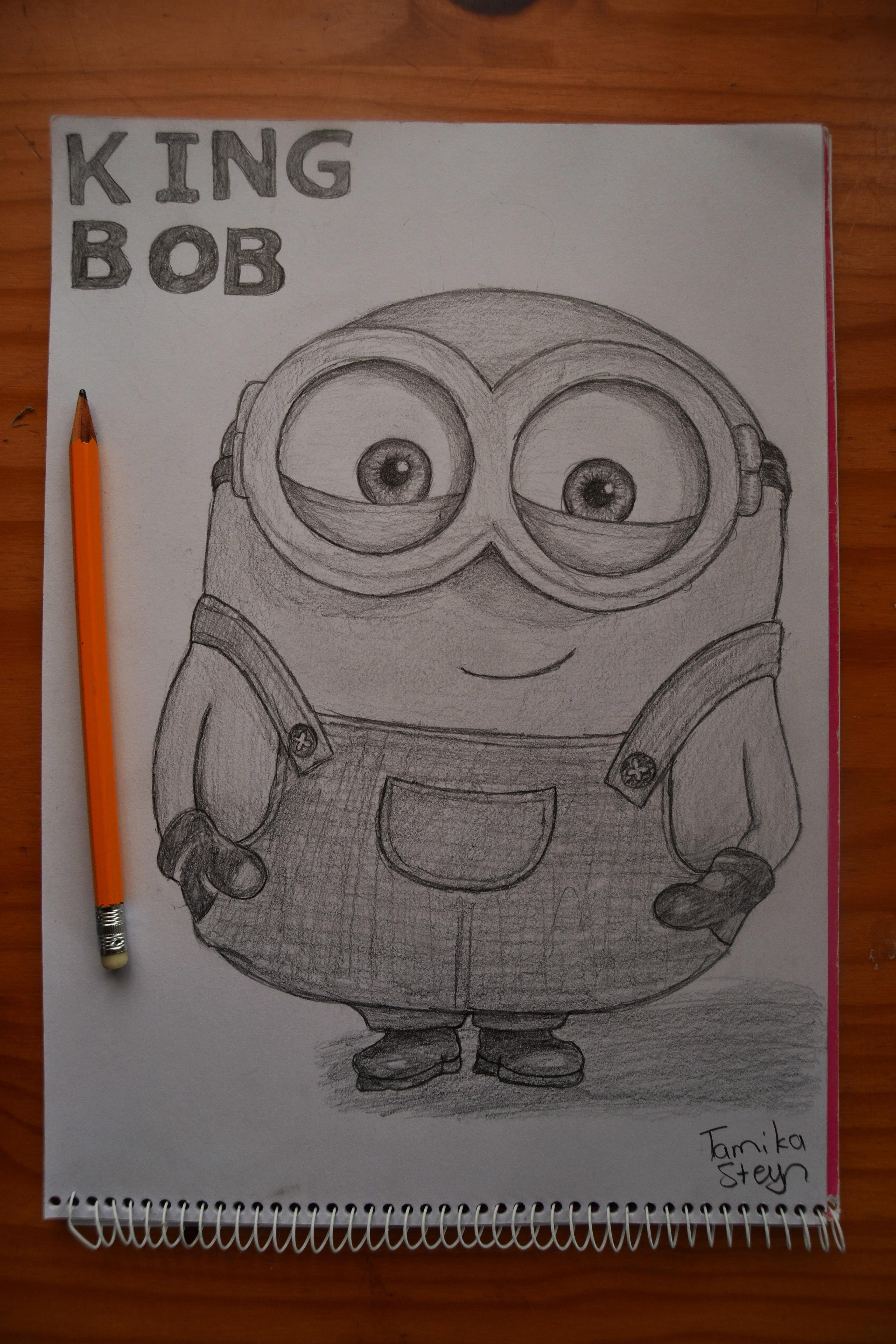 King Bob! / Minions Fan Art / Minions / Fan Art / Minions Drawing / Drawing  / Art / My Drawing