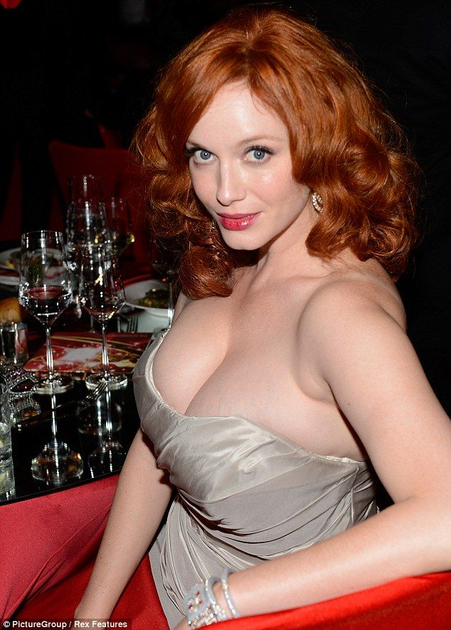 Tina Fey And Amy Poehler Party As Christina Hendricks Shows Off