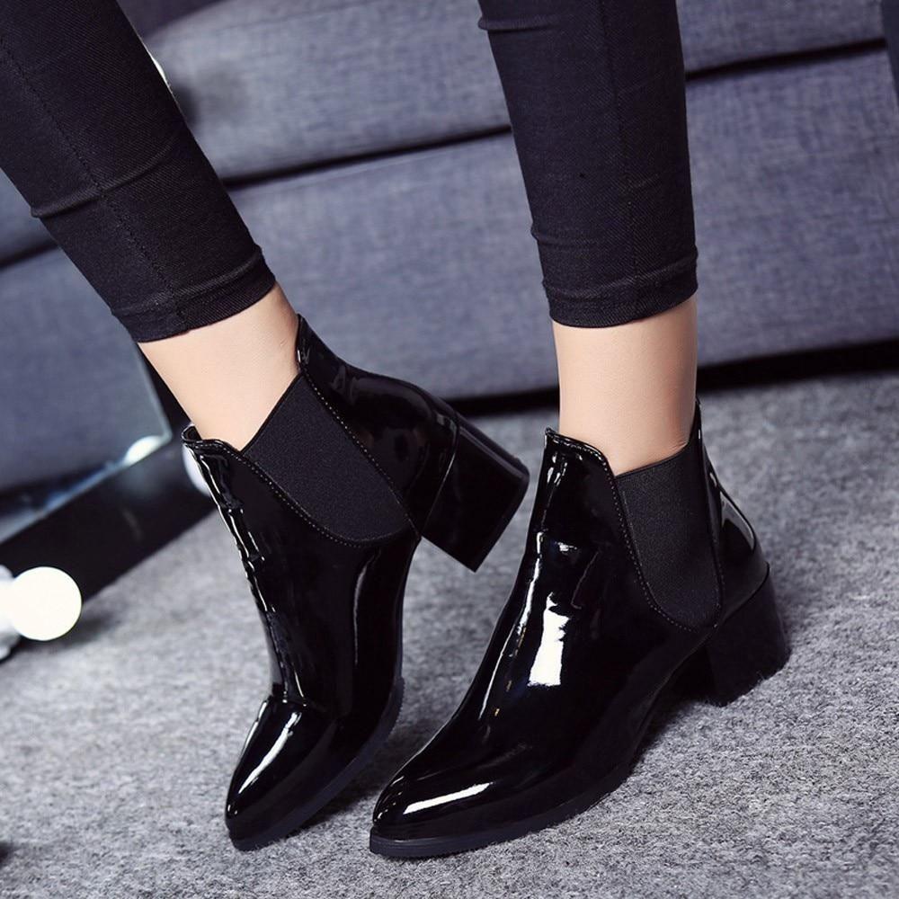 womens boots small heel