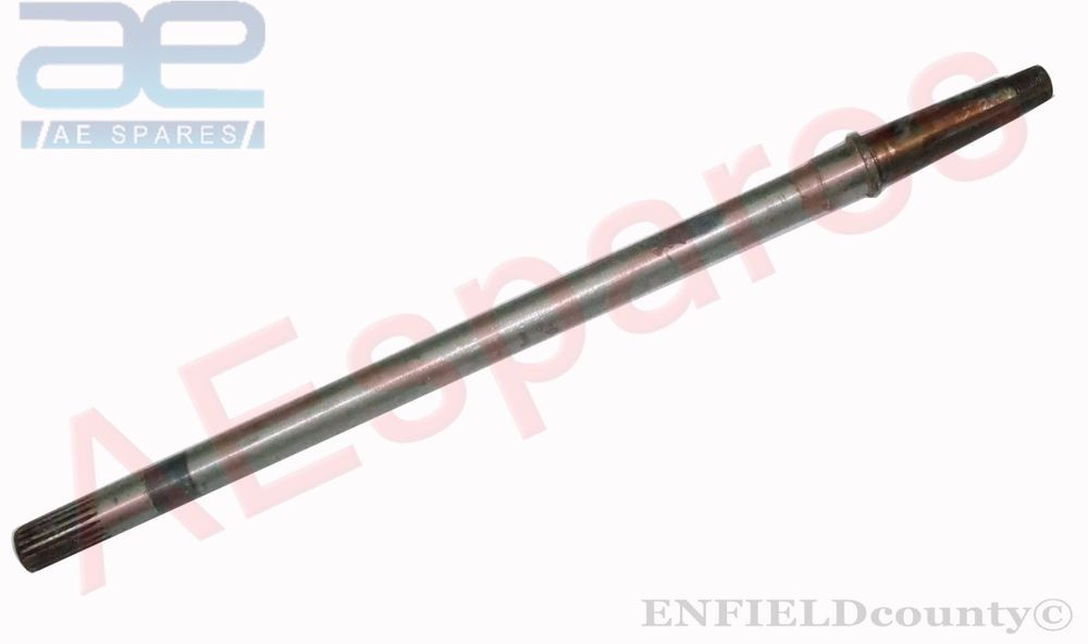 Enfield County Ford Tractor 3600 3610 Large Vertical Exhaust Silencer Black Enamel Coated