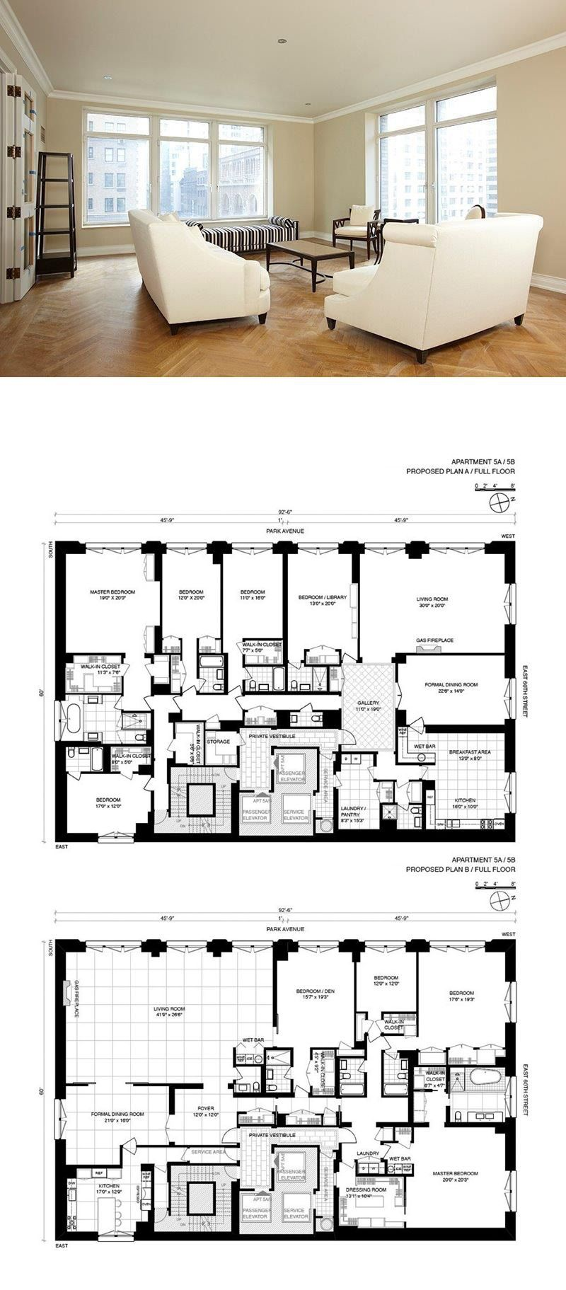 515 Park Ave 5ab In Lenox Hill Manhattan Streeteasy Apartment Floor Plans New York Homes New York Apartments