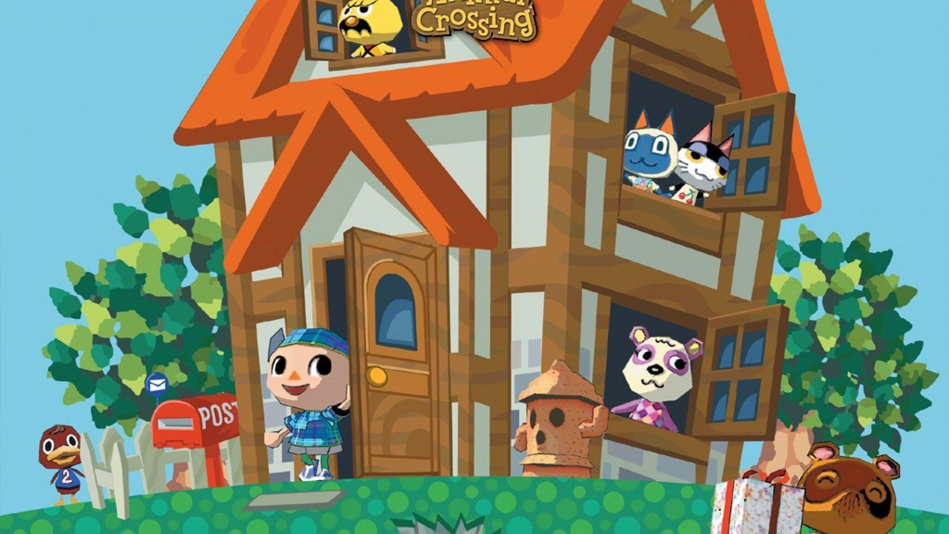 Animal Crossing Gamecube Wallpaper Animal crossing music