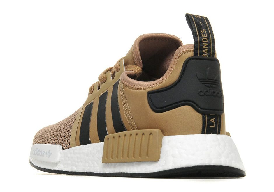 adidas NMD R1 Gold Black | SneakerNews.com