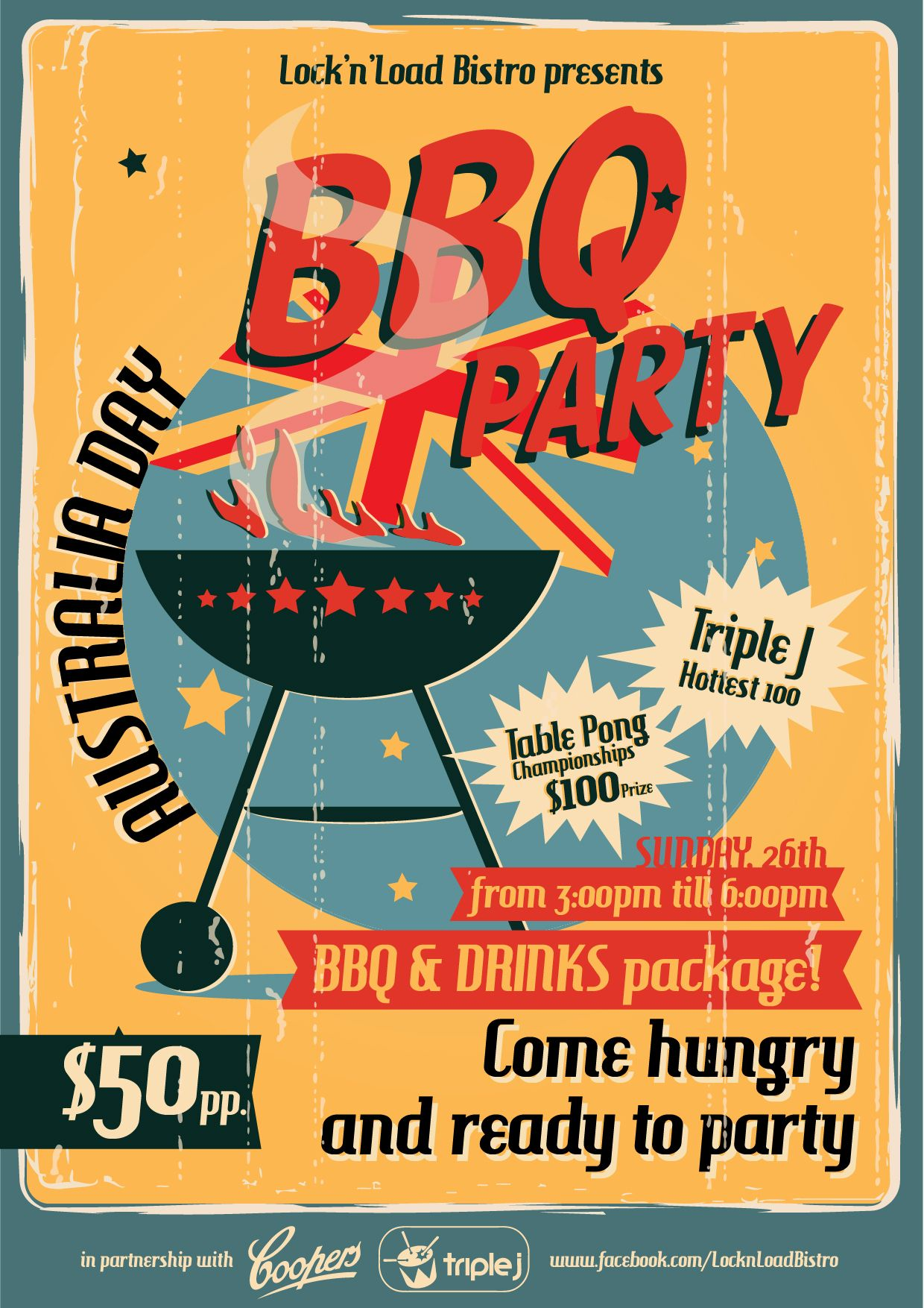 Australia Day \'BBQ Party\' ... LnL style! | Artwork | Pinterest