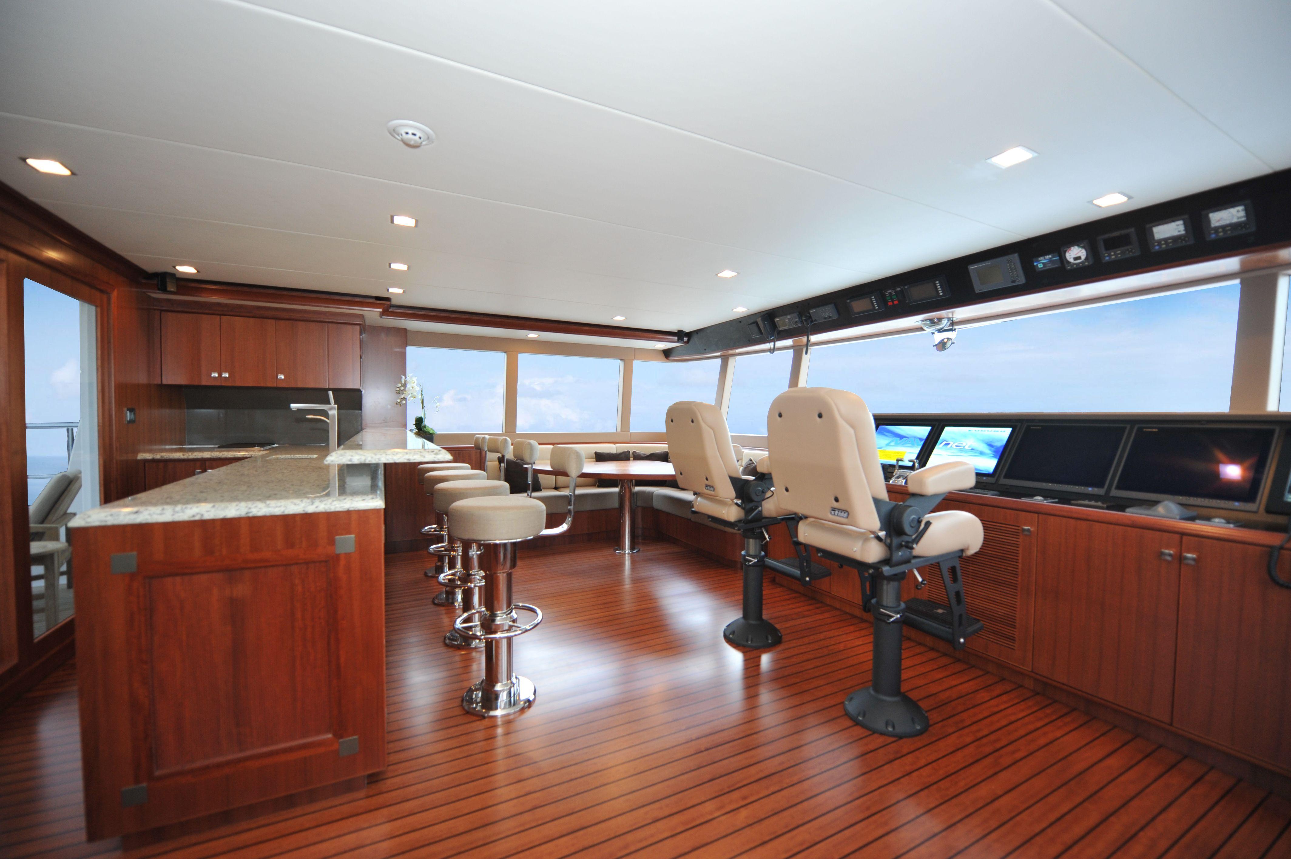 Nordhavn 120 Flybridge Custom Yacht Interior Design Destry