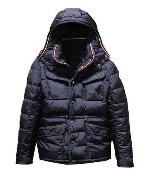 a03aa992bc34 Moncler Millais Down Jackets Mens Collar Multi Pockets Black  2781707  -  £125.43