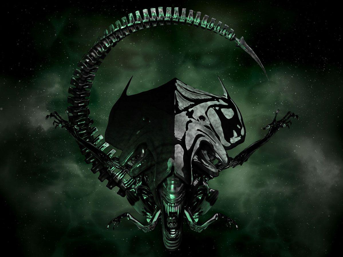 Alien Queen Wallpaper wallpaper Militarism style