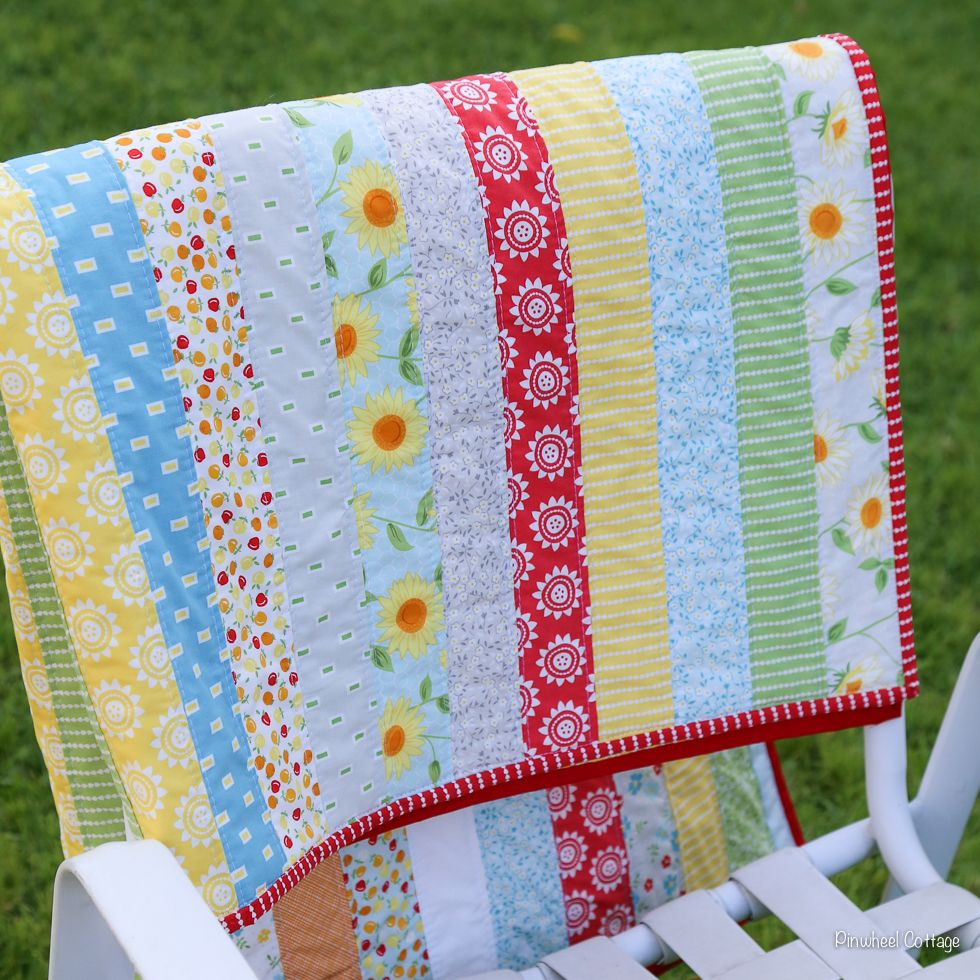 jelly roll quilts | Oh Clementine Jelly Roll Quilt » Pinwheel ... : jelly roll quilt size - Adamdwight.com
