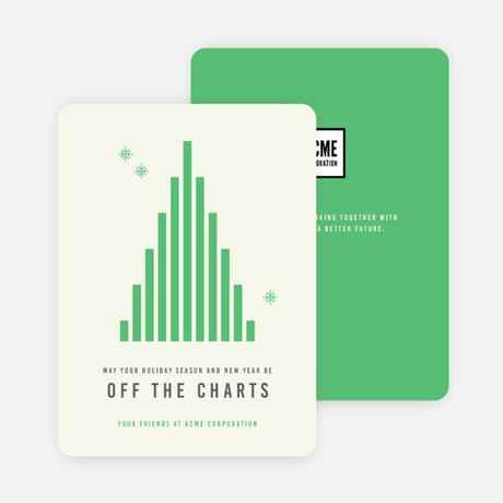 Off The Charts Corporate Holiday Cards Company Holiday Cards