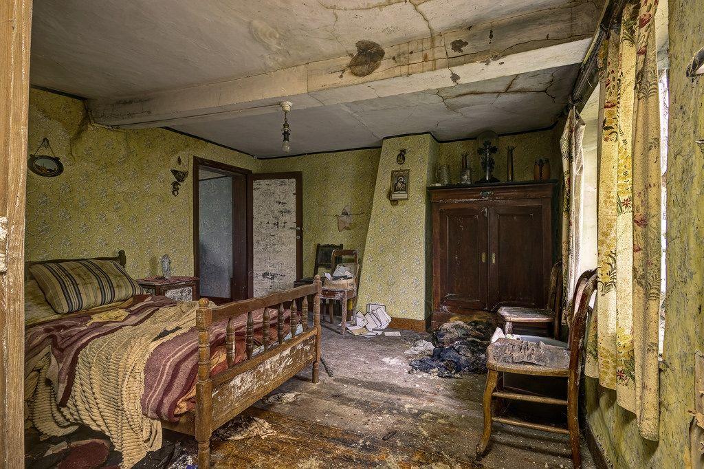 Maison Champignon Urbexground Maisons abandonnées Pinterest - champignon de maison merule