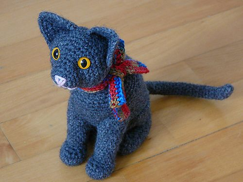 Gato Amigurumi 10 Patrones Gratis - Arte Friki | amigurumis ...