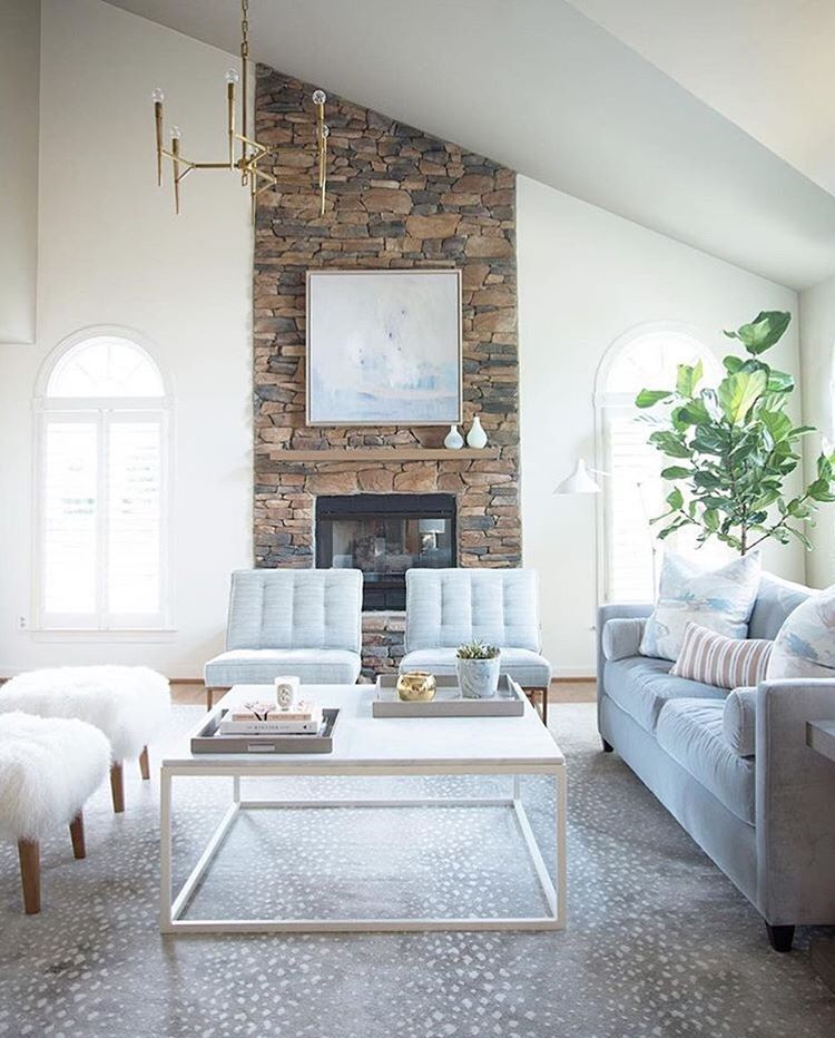 My Light And Airy Living Room Transformation: Love The Light Colors, Soft Textures And Subtle Pattern