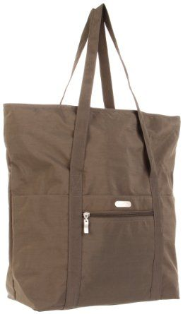 Baggallini expandable tote - light, zippered top, large enough for groceries or a laptop, great carry-on item