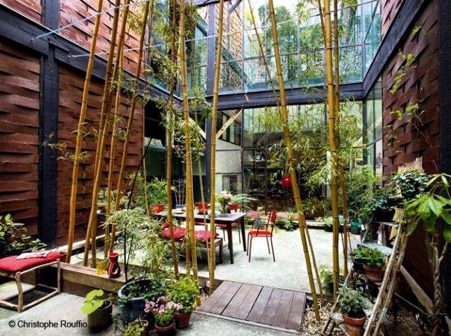 Patio deco bali a faire au jardin pinterest patios - Decoration cour exterieur maison ...