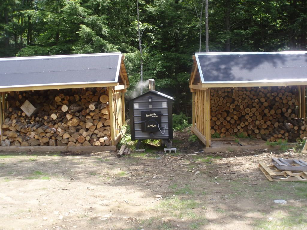 outdoor wood burning furnace except i want the furnace covered with