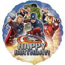 Avengers Happy Birthday Foil Balloon 18in