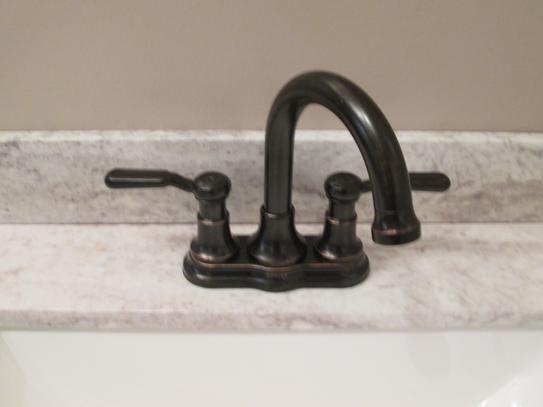 Kohler Worth 4 In Centerset 2 Handle Bathroom Faucet In Oil