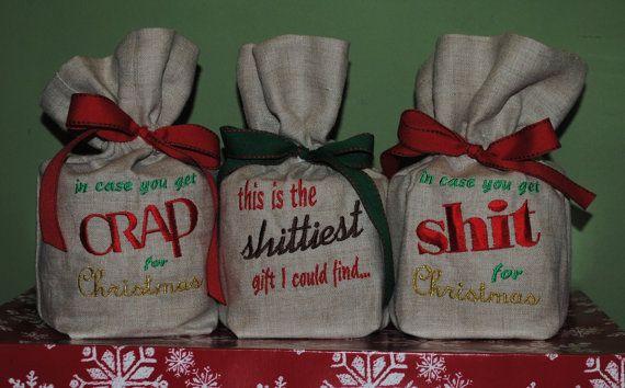 Toilet Paper Gift Bag Gag Gift White Elephant By