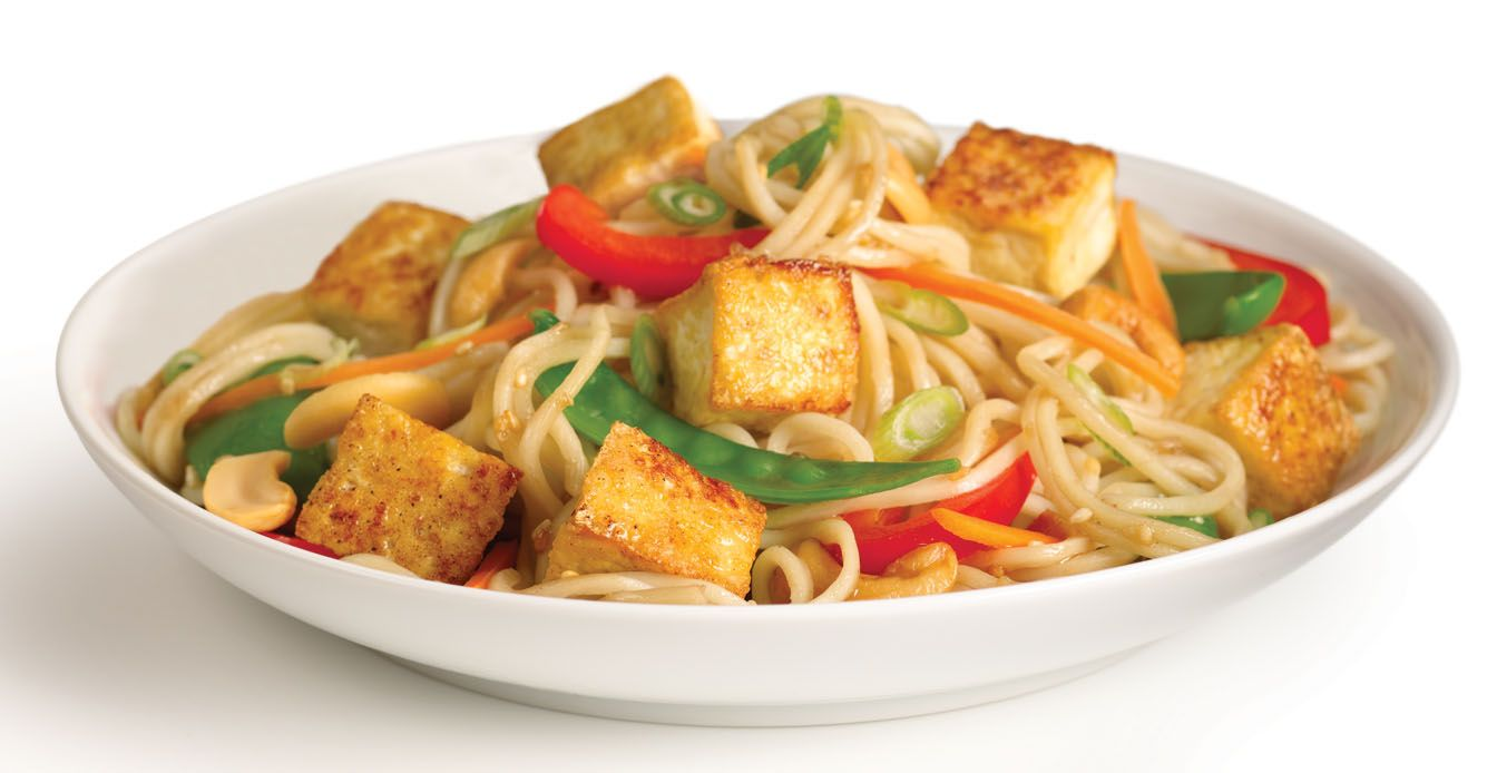 how to make stir fry noodles with tofu