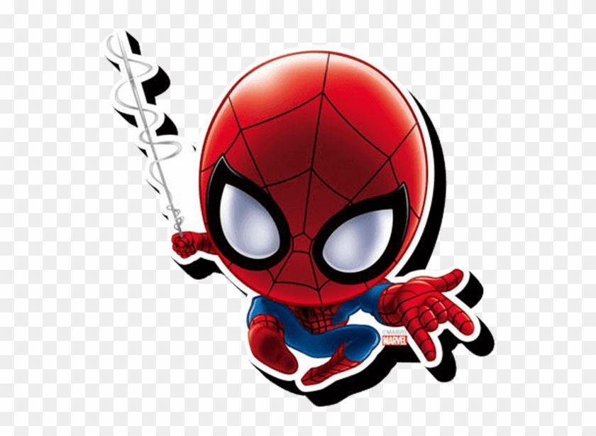 Chibi Spider Man Magnet Logo De Spiderman Baby Spiderman Spiderman Cartoon