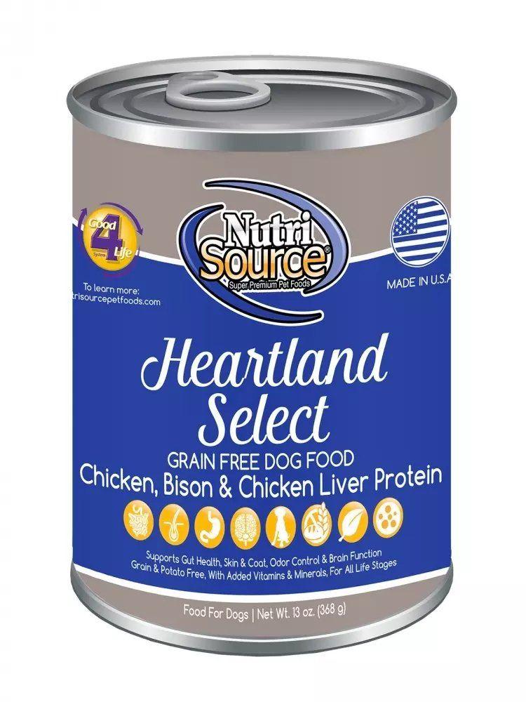 Tuffy's 131003 NutriSource Grain Free Canned Heartland Dog