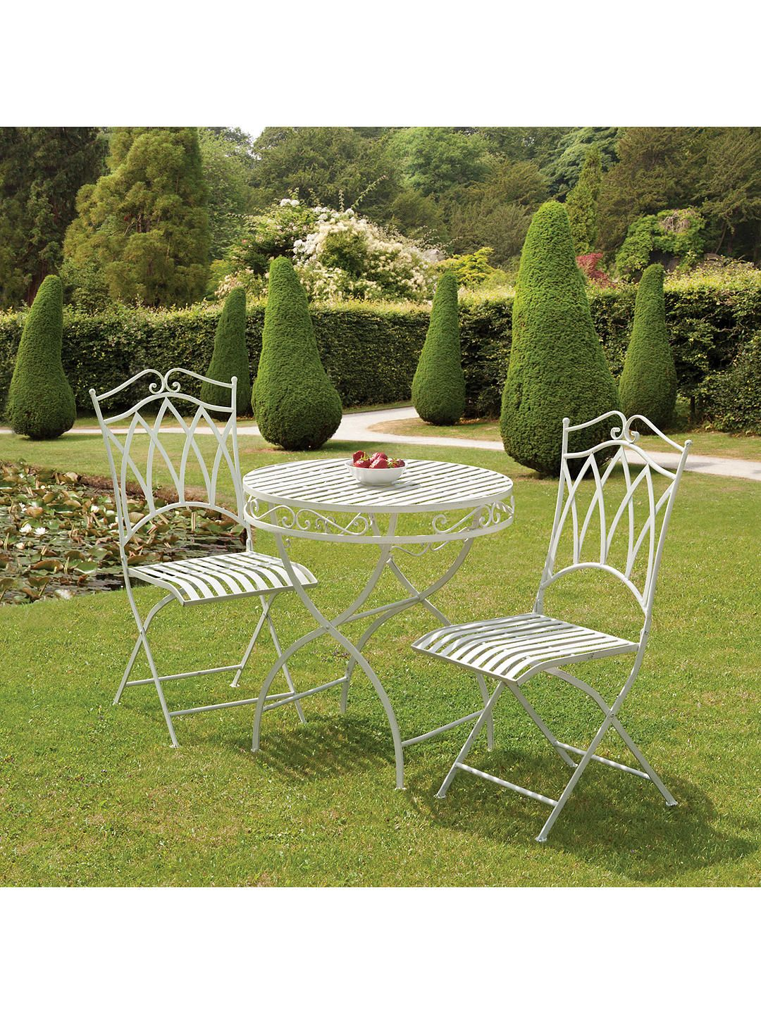 Suntime Gloucester 2 Seater Garden Bistro Dining Table And Chairs