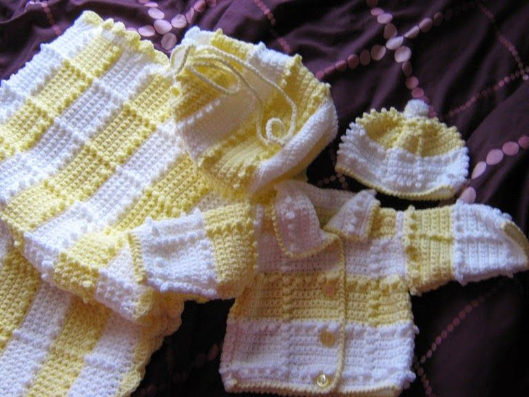 This Baby Layette Set Was Inspired By A Pattern I Found For A