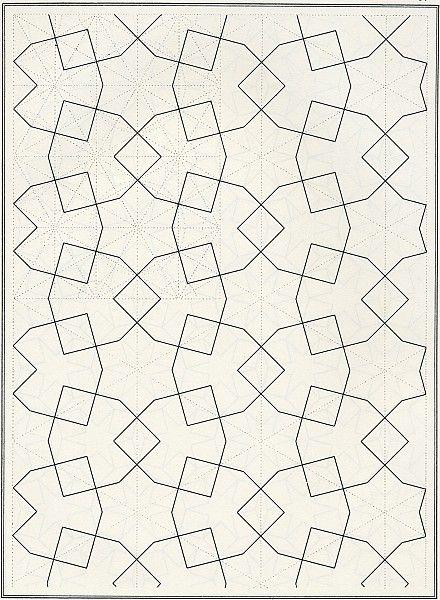 based on islamic patterns