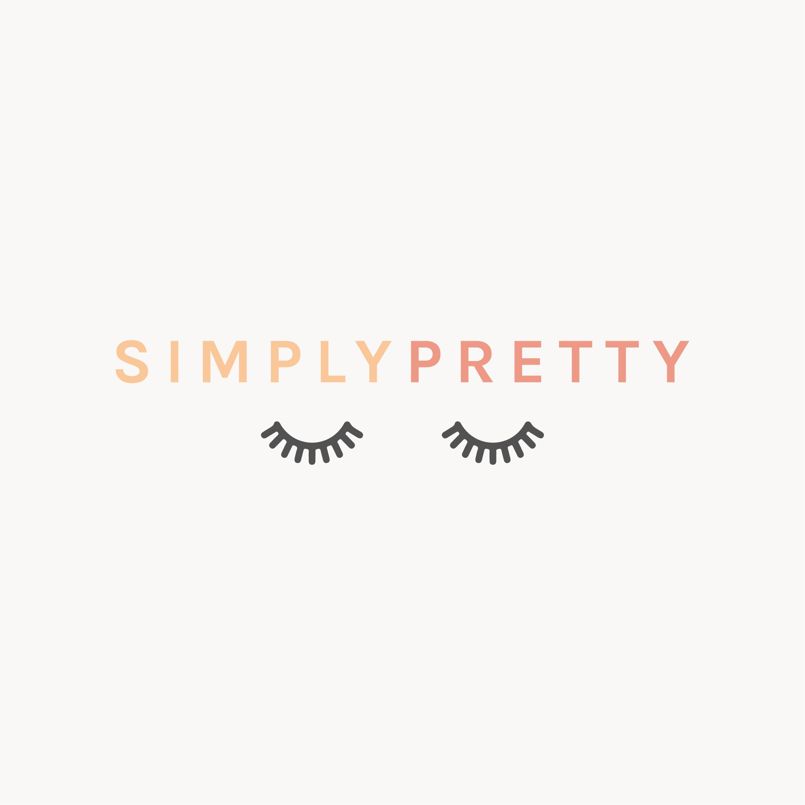 Simply Pretty Artistry Makeup Artist Logo Designed By Amari Creative Amaricreative Logo Branding Design Studio Creative Branding Makeup Artist Logo Design