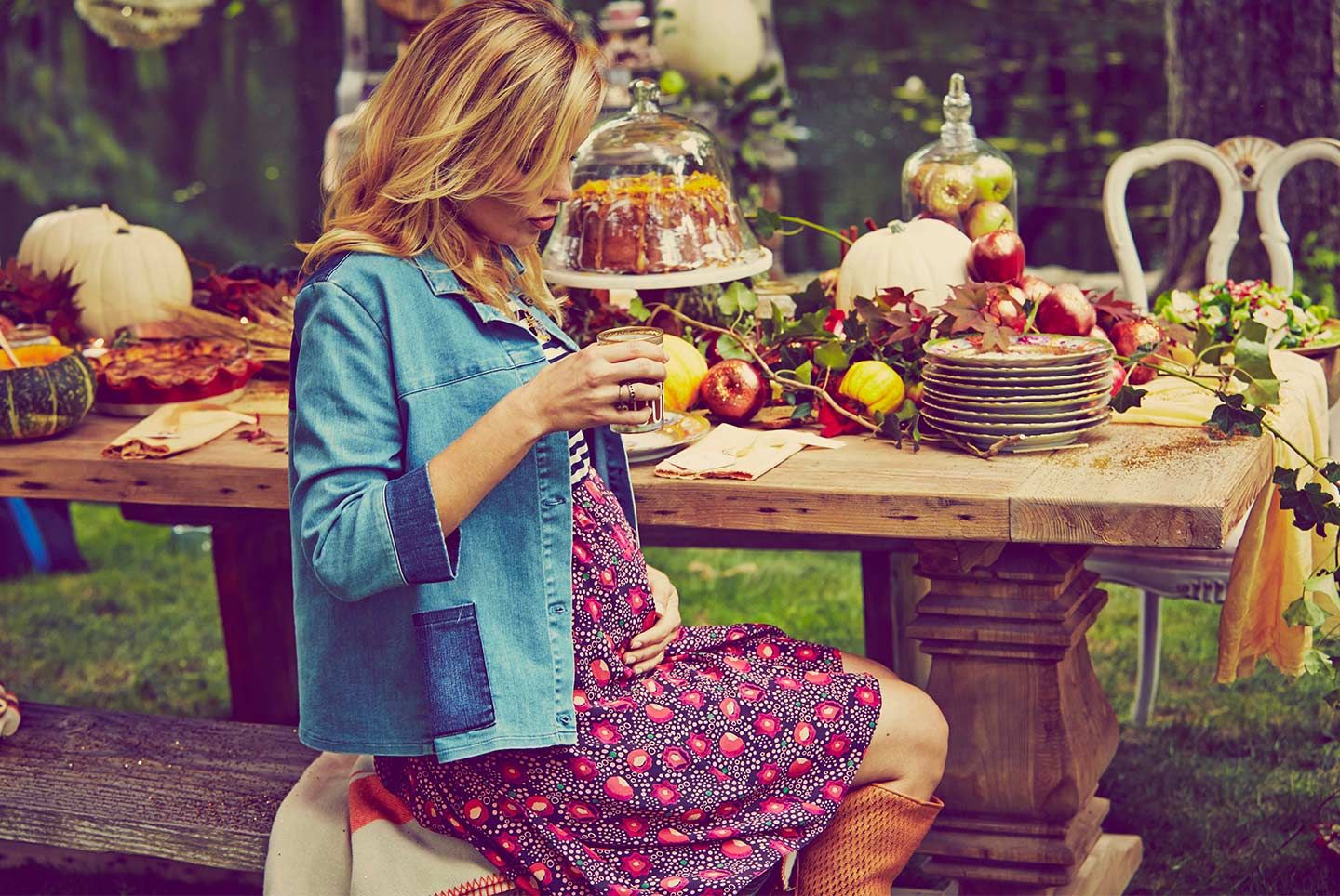 Beautiful Blake Lively Baby Shower Pictures | Grazia Fashion