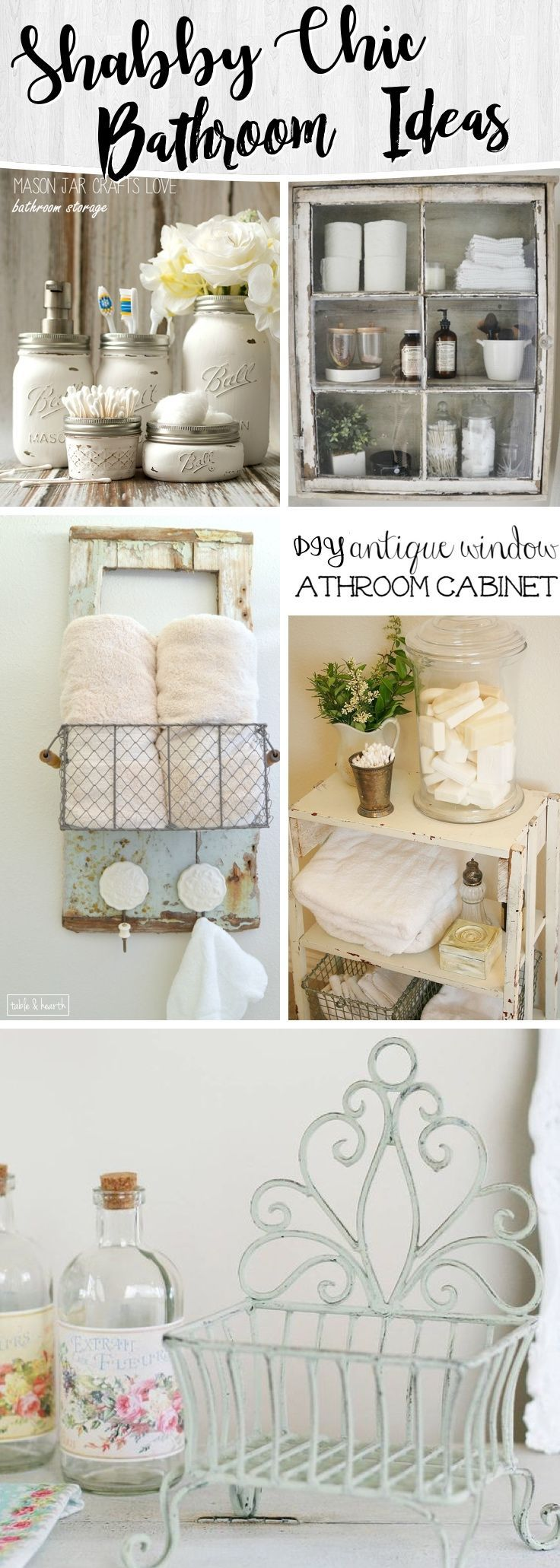 15 Shabby Chic Bathroom Ideas Transforming Your Space From Simple to ...