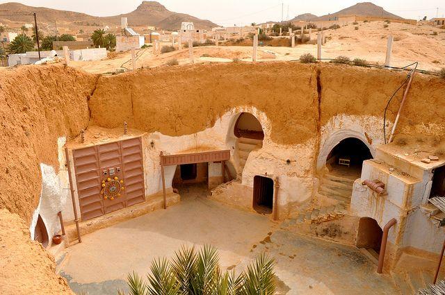 Matmata Tunisia Túnez Paisajes Necesito Viajar